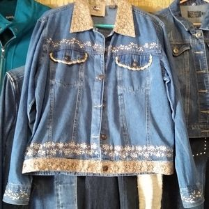 Vintage 'Don't Mess With Texas' Jean Jacket